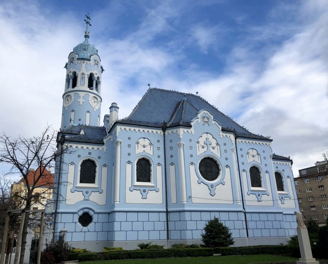 Iglesia Azul Bratislava